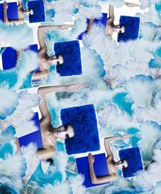 Synchro swim created with Bazaart by Akira Hashiguchi