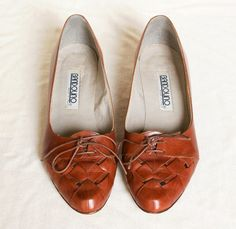 Wedge oxfords