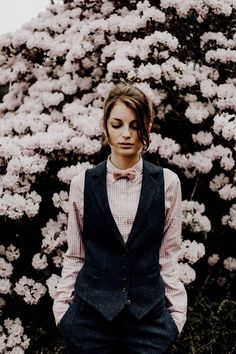 Walker Slater, Tweed, Tomboy Girl, Office Outfits Women, Vintage Fashion, Women's Fashion, Formal Suits, Pink Gingham, Style Guides
