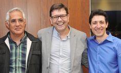 Louis Mario, Hélio Vanelli e Victor Angueira