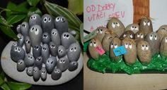 Gartendeko selber machen - 6 kreative Ideen aus Flusssteine