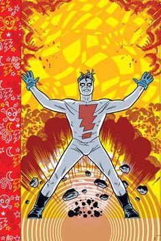 Madman: The Oddity Odyssey Comic Book Artists, Comic Books Art, Comic Art, Mike Allred, Marvel, Comic Panels, Image Comics, Dark Horse, Mad Men
