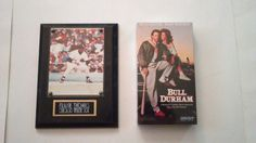 $25 NEW/SEALED! Bull Durham (VHS,88-89) & Frank Thomas Limited Edition Wall Plaque