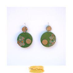 Orecchini in pasta polimerica Earrings in polimer clay Boucle d'oreille en pate polimère