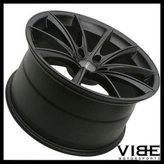 "20"" ACE CONVEX BLACK CONCAVE WHEELS RIMS FITS INFINITI G37 G37S COUPE"