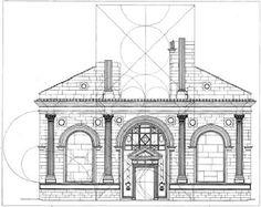 templo malatestiano - Rimini (1450-58) fachada, formas básicas de composição. renascimento primitivo Italiano.