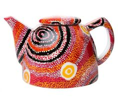 "Aboriginal Ceramics Tagged ""Teapot"" - Alperstein Designs"
