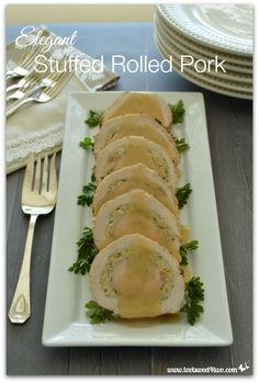 Elegant Stuffed Roll