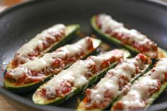 Sausage Stuffed Zucchini Ingredients  Italian sausage  Zucchini's White onion Garlic Tomato sauce  Shredded mozzarella