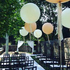 #wedding #vintage #rural #bodacivil #globos
