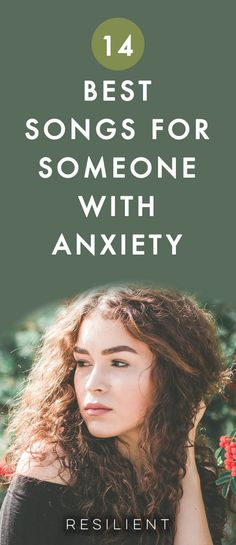 Sometimes you can help your anxiety by listening to some slow, soothing music.  Of course there's always yoga-type music, waterfalls, etc, but these are just regular old songs that are a little slower and have nice lyrics so they'll hopefully make you feel better and less anxious. Here are the 14 best songs for people with anxiety.  #anxiety #anxietysongs