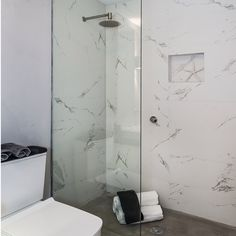 The beauty of marble with the durability of porcelain.