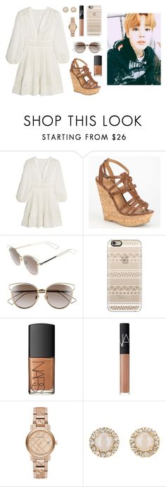 """Cruise with Jimin"" by got7outfits ❤ liked on Polyvore featuring Zimmermann, Delicious, Christian Dior, Casetify, NARS Cosmetics, Burberry and Kate Spade"