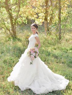 Spring 2015 Wedding Dress Trends | Mine Forever