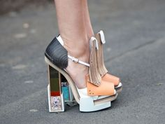 THE GLOSSY MOOD: Street style inspirations: Shoes!