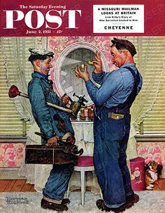 Norman Rockwell...only my all-time favorite artist