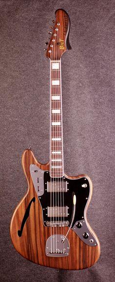 BiLT Zaftig guitar.  Made in Des Moines, IA.  biltguitars.com