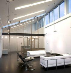Penthouse Offices, otte Architecture, New York, New York.  Toplantı odamız