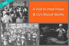 This film, made by Cricks and Sharp in 1906 is one of the oldest surviving documentaries and the quality of the film is remarkable given its age.  It shows us all the stages of biscuit production, from preparation to packing and distribution. James Peek and George Hender Frean built their first factory in Dockhead, Bermondsey in 1857. They moved to Clements Road in 1866, where the company remained until 1989. Peek Freans was one of the largest employers in the area until the mid-20th…