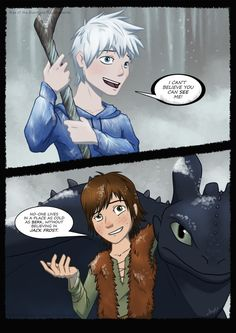 Hahaha, so true. Hiccup and Jack are the best of friends because of it. lol
