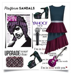"""Forever Prince"" by conch-lady ❤ liked on Polyvore featuring Rodo, Mulberry, Lattori, thevoice and YahooView"