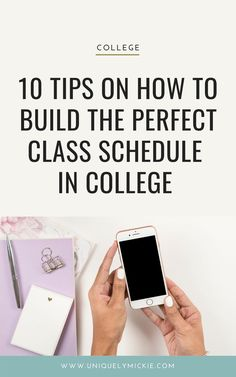 Sharing my top college tips on how to build the perfect class schedule in college Top Colleges, Class Schedule, College Hacks, College Students, Time Management, Stress, Building, Productivity, Unit Plan