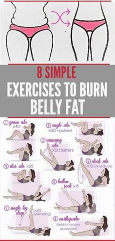 8 SIMPLE EXERCISES TO REMOVE BELLY FAT QUICKLY – Women z Fitness