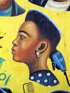 African signboard- Ghana