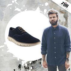 Conoce nuestro modelo bostoniano azul, te sorprenderá lo versátil que es :)  http://www.calzadozull.com/azul