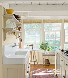 Country Kitchen - Kitchen Designs - Country Living - Click image to find more hot Pinterest pins