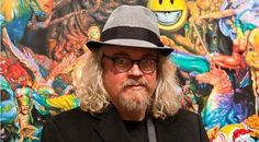 """Artist Ron English Talks His """"POPaganja"""" Show, Marijuana Merch, and Life After Prohibition   Plus his thoughts on album cover art and advertising"""