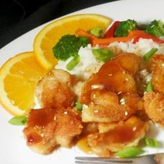 Asian Orange Chicken - Allrecipes.com
