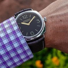 Panerai PAM232 Radiomir Base Dial with gold hands.