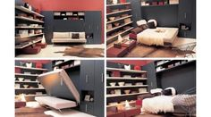 7 Murphy Beds from Domosfera