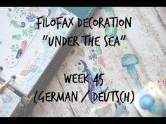 Filofax Decoration Week 45 (german/deutsch) - YouTube