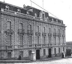 1909. Cuesta de la Vega. Palacio de Fernando de Baviera