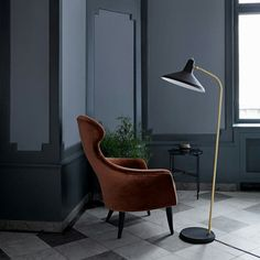FLOOR LAMP designer: Greta Magnusson #Grossman // brand: #Gubi // year: #1950