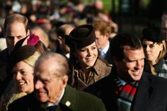 The British Royals on Christmas Day 2014 | Pictures | POPSUGAR Celebrity
