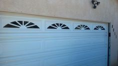 Shot of one of many window styles you can incorporate into the door, whether existing or new.  888.870.4677