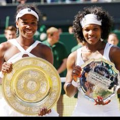 Serena/Venus Williams - Dominating women's tennis by transforming the game from deft finesse into violent physicality. Inspiring!