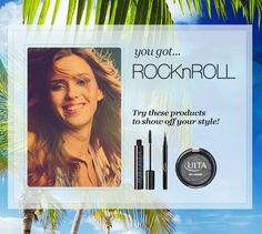 My Beauty Style today is Rock & Roll! I just took the ULTA Quiz for the chance to WIN a Maui vacation.