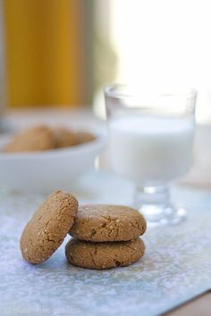 Gluten-Free Peanut Butter Quinoa Cookies @ Gluten-Free Goddess