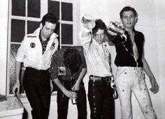 The Clash - Joe Strummer, Mick Jones, Paul Simonon and Topper Headon