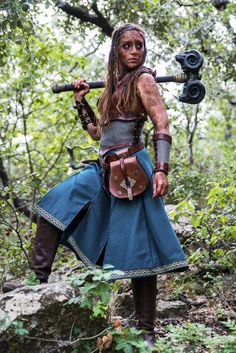 Aslaug armor : female leather fantasy medieval viking shieldmaiden armor