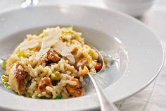 Risotto met kip en groenten Italian Dishes, Italian Recipes, Polenta, Quinoa, Cooking For Dummies, Recovery Food, Bastilla, Salad Bar, Light Recipes