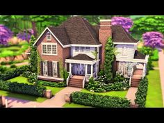 Sims 4 Family House, Family House Plans, Sims 4 House Plans, Sims 4 House Building, Sims 4 Houses Layout, House Layouts, The Sims 4 Lots, Sims 4 House Design, Casas The Sims 4