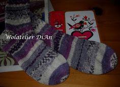 Weblog Wolatelier Dian: Sokken breien - basispatroon Knitting Socks, Knit Socks, Knit Crochet, Stitch, Projects, Clothes, Collection, Tutorials, Winter