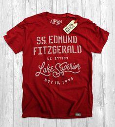 Image of Edmund Fitzgerald Tee