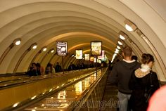 St. Petersburg metro is famous for its depth