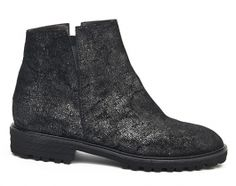 Nora's Shoe Shop : Brunate '18559' flat ankle boot